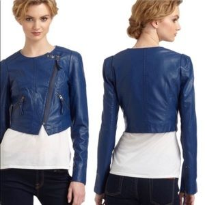 Free People Vegan Leather Moto Jacket NWOT. 4